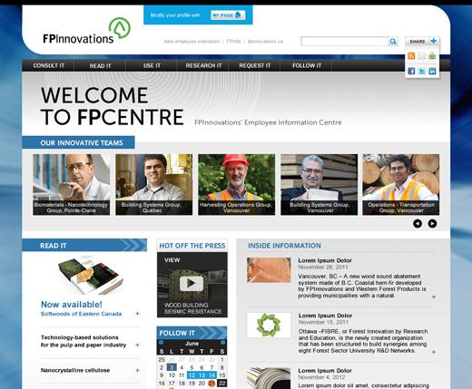 Site intranet