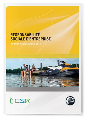 Rapport de responsabilité sociale d'entreprise 2014